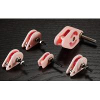 Wholesale Pink Caged Ceramic Pulley , Precision Coil Winding Tensioner Accessories from china suppliers
