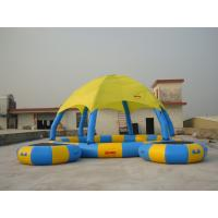 Wholesale Colourful 8m Diameter Kids Inflatable Pool with Trampoline from china suppliers