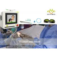 Wholesale Touch Screen Non Toxic Veterinary Laser Equipment Laser Surgery Speeds Healing from china suppliers