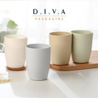 Wholesale BPA free wholesale Plastic colored cup plastic teeth brush cups from china suppliers