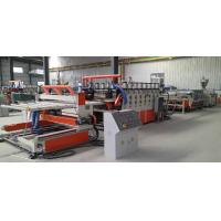Wholesale PVC Construction Template Extrusion Line --PVC Extrusion Line --Extrusion Line from china suppliers