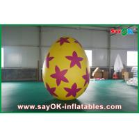 Wholesale Pvc Outside Inflatable Holiday Decorations Painted Decoration Egg from china suppliers
