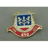 Wholesale Copper Promotion Custom Lapel Pins Personalized Gold Plating from china suppliers