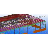 Wholesale Steel Workshop Civil Engineering Structural Designs For Fabrications from china suppliers