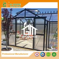 Buy cheap 319 X 377 X 250CM Black Color 8mm Thick Polycarbonate Garden Greenhouse from wholesalers