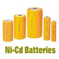 Wholesale NiCd Battery Packs AAA300MAH , Rechargeable Batteries BackUP Power from china suppliers