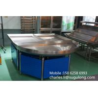 Wholesale Metallic Supermarket Vegetable Display Shelves , Fruit And Vegetable Shelving from china suppliers
