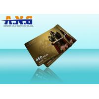 Wholesale Prepaid Game VIP Members Plastic PVC Cards 85.5×54MM with Magnetic Stripe from china suppliers