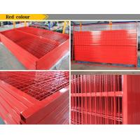 Wholesale PVC coated welded canada temporary movable fencE from china suppliers