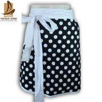 Wholesale Promotion Gift Polyester / Cotton Kitchen Apron Personalised Aprons with Dot Printed from china suppliers