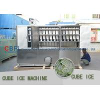Wholesale 3 Ton Per Day Ice Cube Machine / Commercial Grade Ice Machine ISO SGS BV from china suppliers