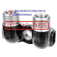 "Wholesale CONNECTOR Universal A/C compressor Fitting Adapter Vertical Port/Tube manifold fitting 1"" x 14 from china suppliers"