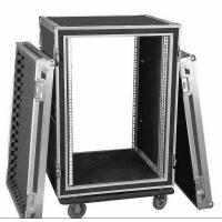Wholesale Aluminum 10U Rack Flight Case For Travel , Guitar Flight Cases from china suppliers