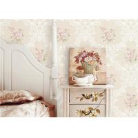 Wholesale PVC 3D Cheap Discount Wallpaper / Country Style Wallpaper With Rose Pattern , 0.53*10M from china suppliers