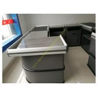 Wholesale Electronic Supermarket Conveyor Belt Checkout Counter With Electrical Engine from china suppliers