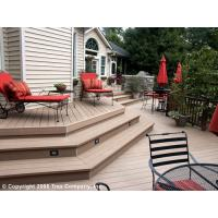 Wholesale Anticorrosion Wood Plastic Composite Foam Decks Exterior Decking from china suppliers