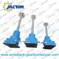 Wholesale 35 Ton Ball Screw Jack High Precision Ball Screw 100MM Lead 20MM Gear Ratio 32:3, 32:1 from china suppliers