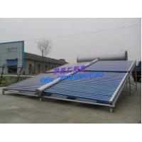 Wholesale 600L  color steel 58/1800 unpressurized CE certificate white solar water heater from china suppliers