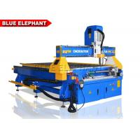 Wholesale Hign Speed 4x8 Wood Cnc Router Machine , 4 Axis Wood Carving Machine Steper System from china suppliers