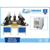 Wholesale IBC Tank Cage Spot Welding Machine , Pipe Bage Auto Welding Machine from china suppliers