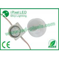 Wholesale Milky Case Full Color RGB LED Pixel , Waterprood 50mm 6 Pixel Led Light from china suppliers