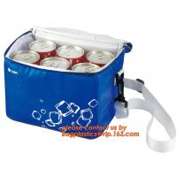 Wholesale polyester cheap simple insulated cooler bag for food, Promotional custom recyclable aluminum foil picnic insulated lunch from china suppliers