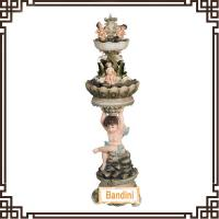 Wholesale angel art resin sculpture water fountain for hotel lobby Resin fountain W144P+842P from china suppliers
