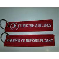 Wholesale Remove Before Flight Turkish Airlines Keyring Keychain Turkey Türkiye from china suppliers