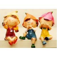 Personality barrier furnishing articles Rural style household act little man 3pcs
