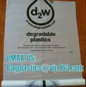 Wholesale litter bag , corn bags, Compostable, D2W, EPI, Biodegradable, degradable, EN13432 from china suppliers