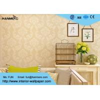 Wholesale Golden Damask Pattern European Style Wallpaper For Living Room from china suppliers