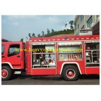 Wholesale 6 cbm Fire Fighting Vehicles With Foam Water Tank 4x2 4600mm Wheel Base from china suppliers