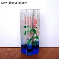 Wholesale cheap waterford crystal tall glass vases patterns vase martini cristal de boheme glassware glass vases pulicrystal-548 from china suppliers