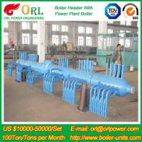 Wholesale 10 T Plant Rate Factor Power 300 MW Boiler Steam Header Natural Oil Chemical Industry from china suppliers