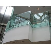 Wholesale Toughened clear glass fixing balustrade for glass balcony from china suppliers