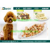 Wholesale Chewing pet dog food machinery , Twist Semi Moist Dog Food Extruder For Pet Treats from china suppliers