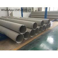 Wholesale TP304H , DIN 1.4948 Welded Stainless Steel Pipe and Tube , Heat Treatment from china suppliers