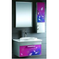 Wholesale Multi - Step Finish Process No Fade Stainless Steel Bathroom Base Cabinet from china suppliers
