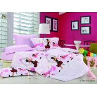 Wholesale Queen Cartoon 100 % Cotton Designer Little Girls Kids Bedding Set from china suppliers