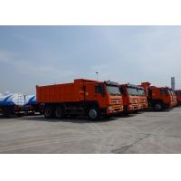 Wholesale SINOTRUK HOWO 6X4 Dump Truck 10 Wheels  25 Tons Loading Capacity with Heavy Duty Axles from china suppliers