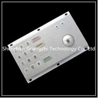 Wholesale Industrial Metal Numeric Keypad With Trackball Contaminate Resistant from china suppliers