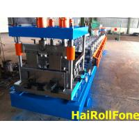 Quality U Track Roofing Roll Forming Machine , PLC Roll Forming Equipment for sale