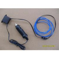 Wholesale 4mm / 5mm Electroluminescent LED EL Wire With DC 12V Inverter For Door And Wall from china suppliers