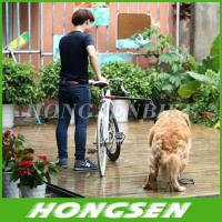 Wholesale Retractable & Rotatable Dog Bicycle Leash Bike Lead Attachment Removable Springy from china suppliers