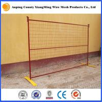 Wholesale temporary construction fence construction fencing temporary fence panels for Canada Market from china suppliers