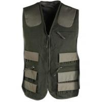 China Breathable Hunter Green Reversible Hunting Vest Percussion Waistcoat Vest for sale