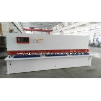 Wholesale Plate Hydraulic Sheet Metal Cutting Machine NC Control 8 X 4000mm from china suppliers
