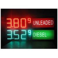 Wholesale LED Gas Station Sign for Oil Price , RF LCD Wireless Remote Control Digital 7 Segment Display from china suppliers