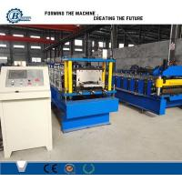 Wholesale Galvanized Steel Profile Roofing Roll Forming Machine With Tower Structure , Automatic from china suppliers