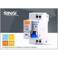Buy cheap Single phase Electric mini Residual Current Circuit Breaker for industrial , building from wholesalers